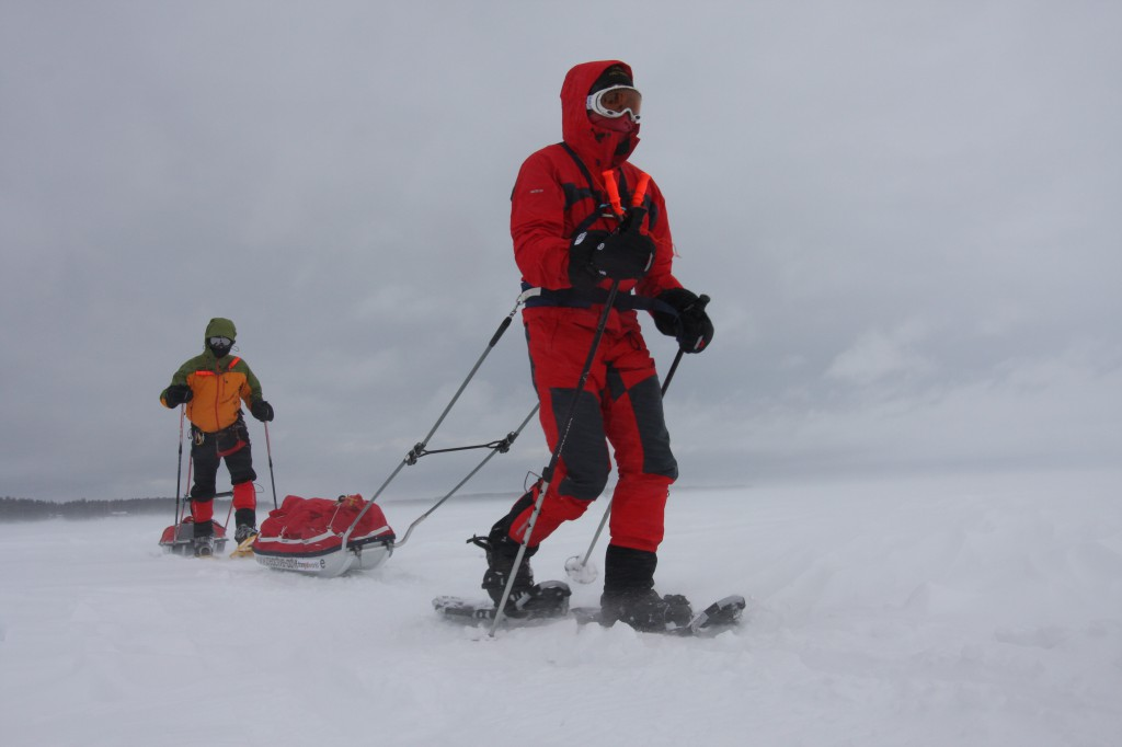 Ski and snowshoe expeditions in Swedish Lapland