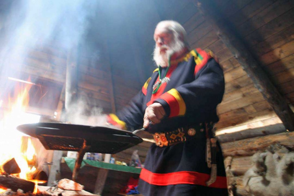 Sami experience in swedish lapland