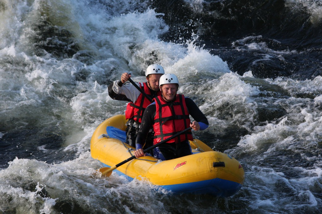 Rafting and multisport in Swedish Lapland