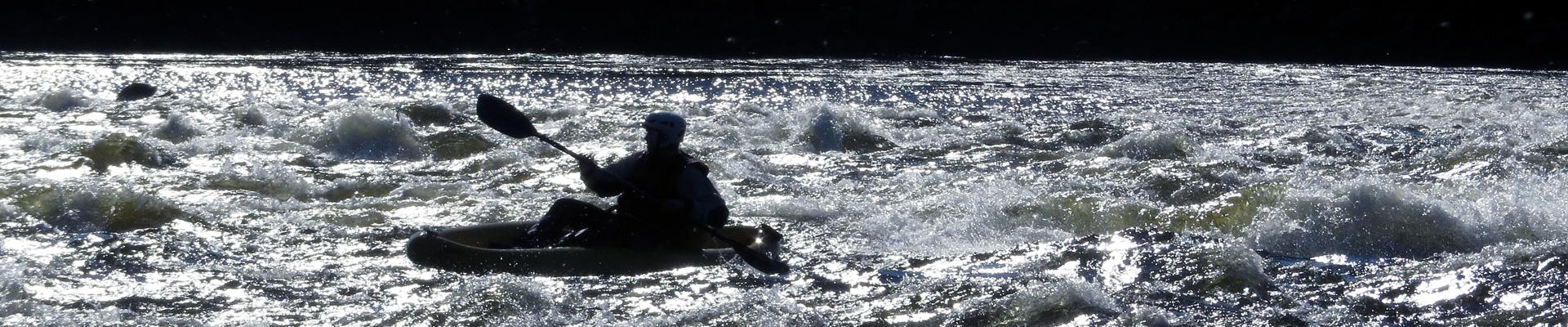 Whitewater Kayaiking in Sweden Lapland